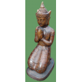 Umber Kneeling Buddha