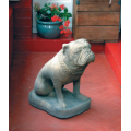 Stone Life size Bulldog
