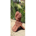 Ridge Squirrel Finial (Straight base)
