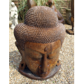 Umber Grand Buddha head