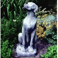 Great Dane Garden Statue - female.