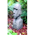 Stone Rapa Nui Head  Sculpture