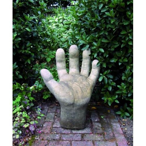 Giant Hand Garden Statue Left