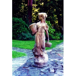 Large Country Girl - Garden Statue
