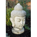 Stone Buddha Head Ornament