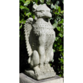 Upright Griffin Statue