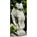 Upright Lion Statue